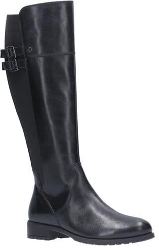 Hush Puppies Arla Ladies Long Boots Black